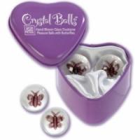 Вагинальные шарики Шарики с бабочками crystal balls 1295-20 bx se