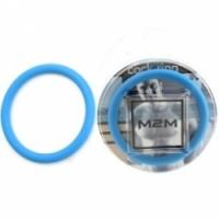 Виброкольцо Нитриловое эрекционное голубое кольцо d=50 мм m2m1213sb