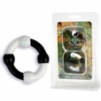 Виброкольцо Эрекционное кольцо yin yang 0853-01 cd dj