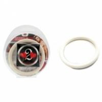 Виброкольцо Нитриловое эрекционное белое кольцо d=50 мм h2h1213w