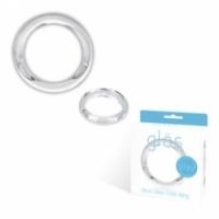 Виброкольцо Прозрачное кольцо ручной работы из стекла zeus large glas-24