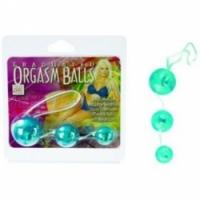 Вагинальные шарики Три голубых вагинальных шарика 1313-12 cd se