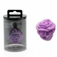 Вибратор Фиолетовое кольцо-цветок на палец с вибрацией gossip ring h25515-10002
