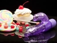 Вибратор Спиральный фиолетовый массажер short & sweet sugar en-aj-1395