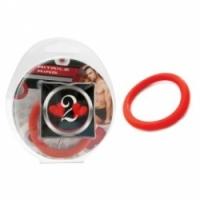 Виброкольцо Нитриловое эрекционное красное кольцо d=40 мм h2h1211r