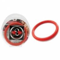 Виброкольцо Нитриловое эрекционное красное кольцо d=50 мм h2h1213r
