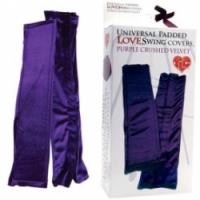 Набор Бархатистые фиолетовые чехлы для любовных качелей 1325-7 bx ts