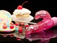 Вибратор Спиральный розовый массажер short & sweet sugar en-aj-1388