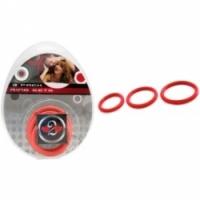Виброкольцо Набор из трех красных колец разного диаметра d=40 мм, 45 мм и 50 мм h2h1200r