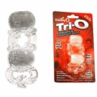 Виброкольцо Кольцо с двумя вибро-элементами the screaming o trio trio110