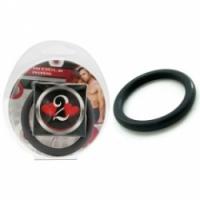 Виброкольцо Нитриловое эрекционное черное кольцо d=45 мм h2h1212blk