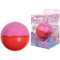 Вибратор Сфера для эротического массажа pleasure ball pink 0966-02 bx dj
