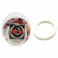 Виброкольцо Нитриловое эрекционное белое кольцо d=40 мм h2h1211w