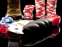 Вибратор Черный вибратор из силикона roulette edition bet on black en-eu-0005-06-2