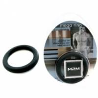 Виброкольцо Толстое эрекционное кольцо m2m1203blk-l