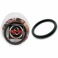 Виброкольцо Нитриловое эрекционное черное кольцо d=50 мм h2h1213blk