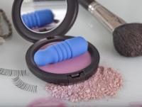 Вибратор Ребристый синий буллет из пластика evolved en-ai-0002-03-2